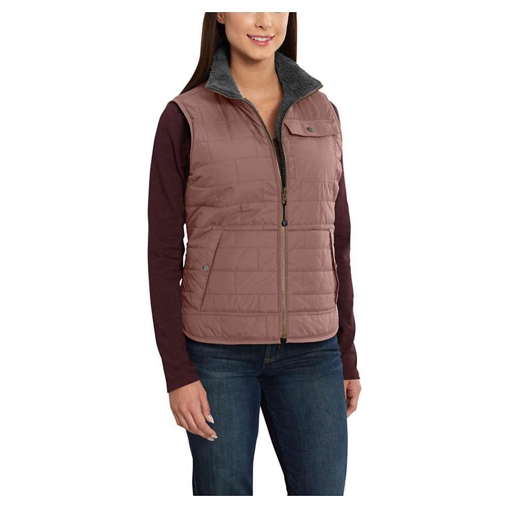 Carhartt Women's Amoret Sherpa-Lined Vest - Medium ...