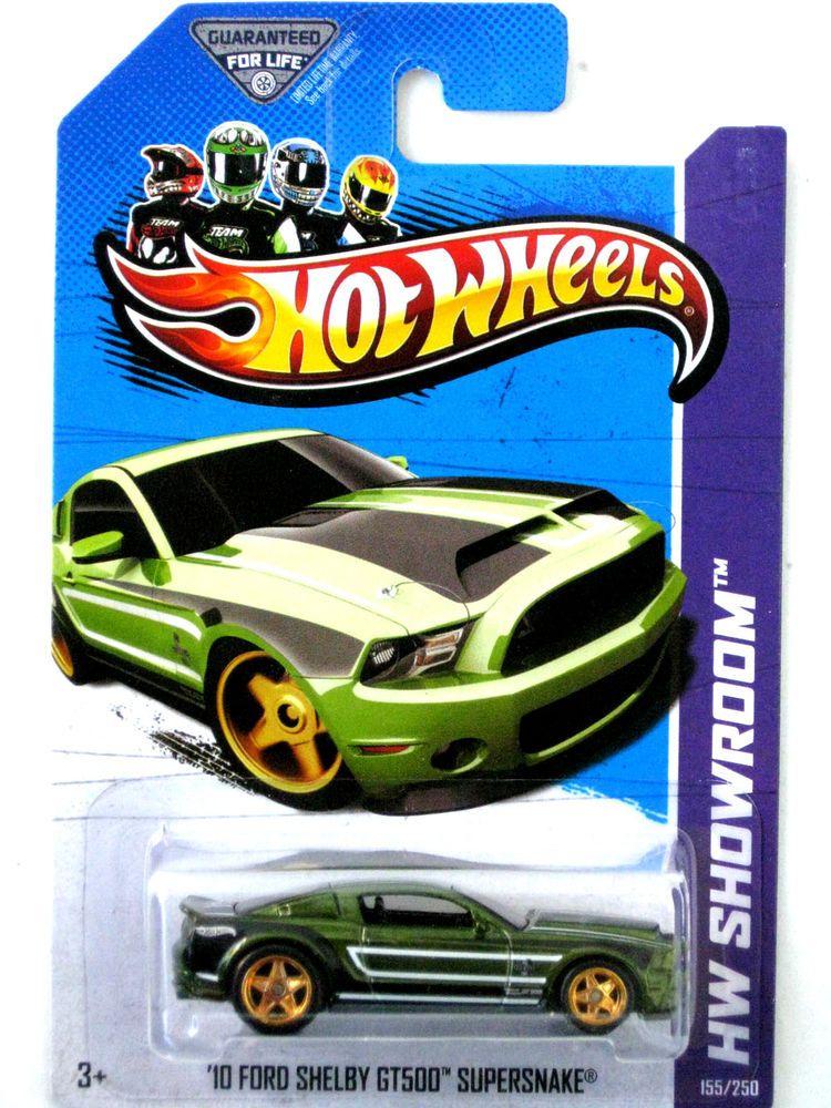 Hot Wheels 2013 Super Treasure Hunt 10 Ford Shelby Gt500 Superskake