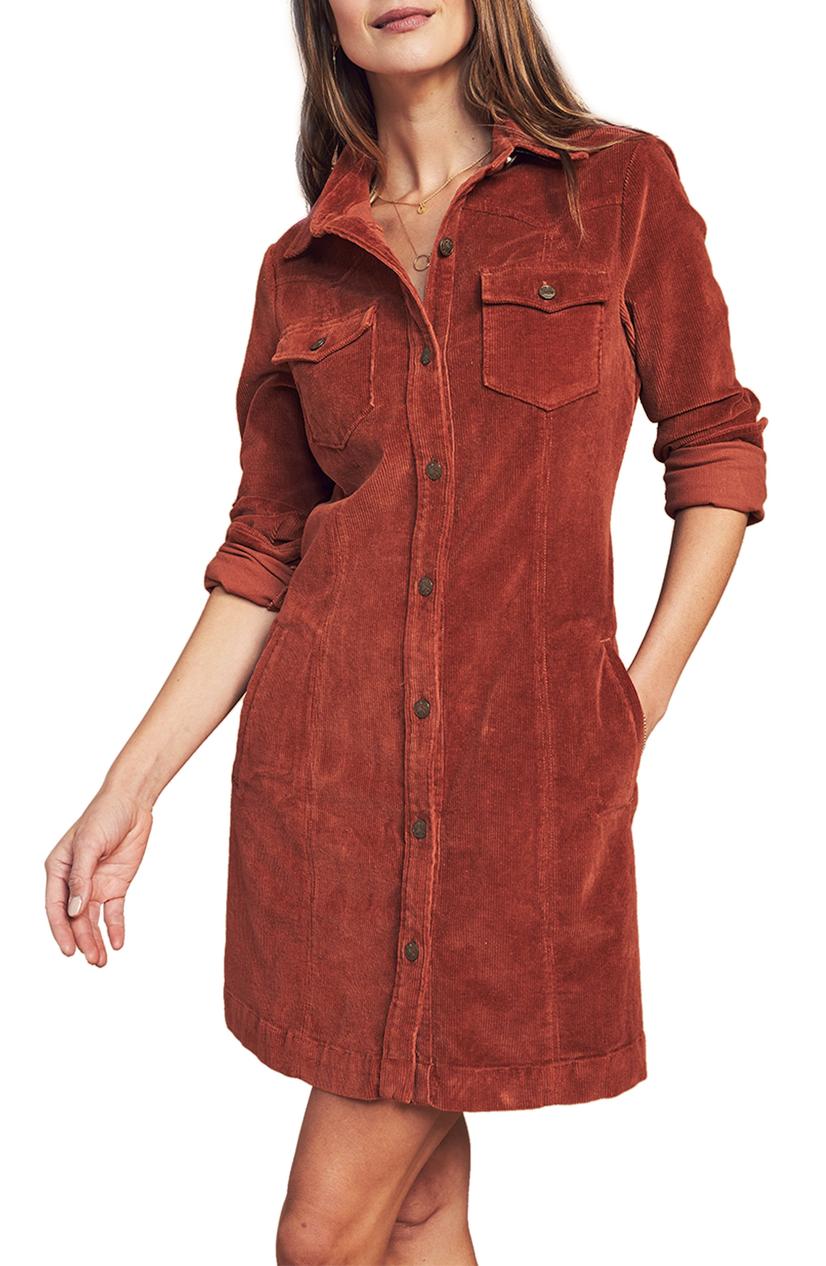 Faherty Malone Long Sleeve Corduroy Shirtdress Nordstrom In 2021 Shirt Dress Faherty Long Sleeve [ 4048 x 2640 Pixel ]