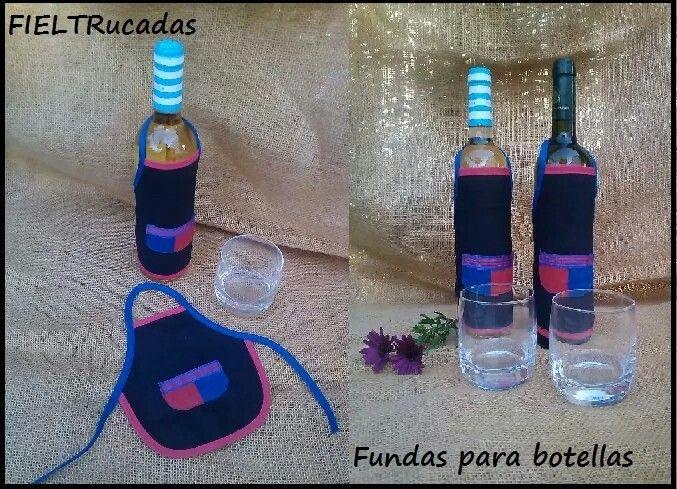 Fundas Para Botella Botellas Fundas Delantares