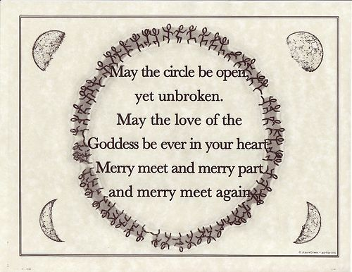 May the circle be open yet unbroken