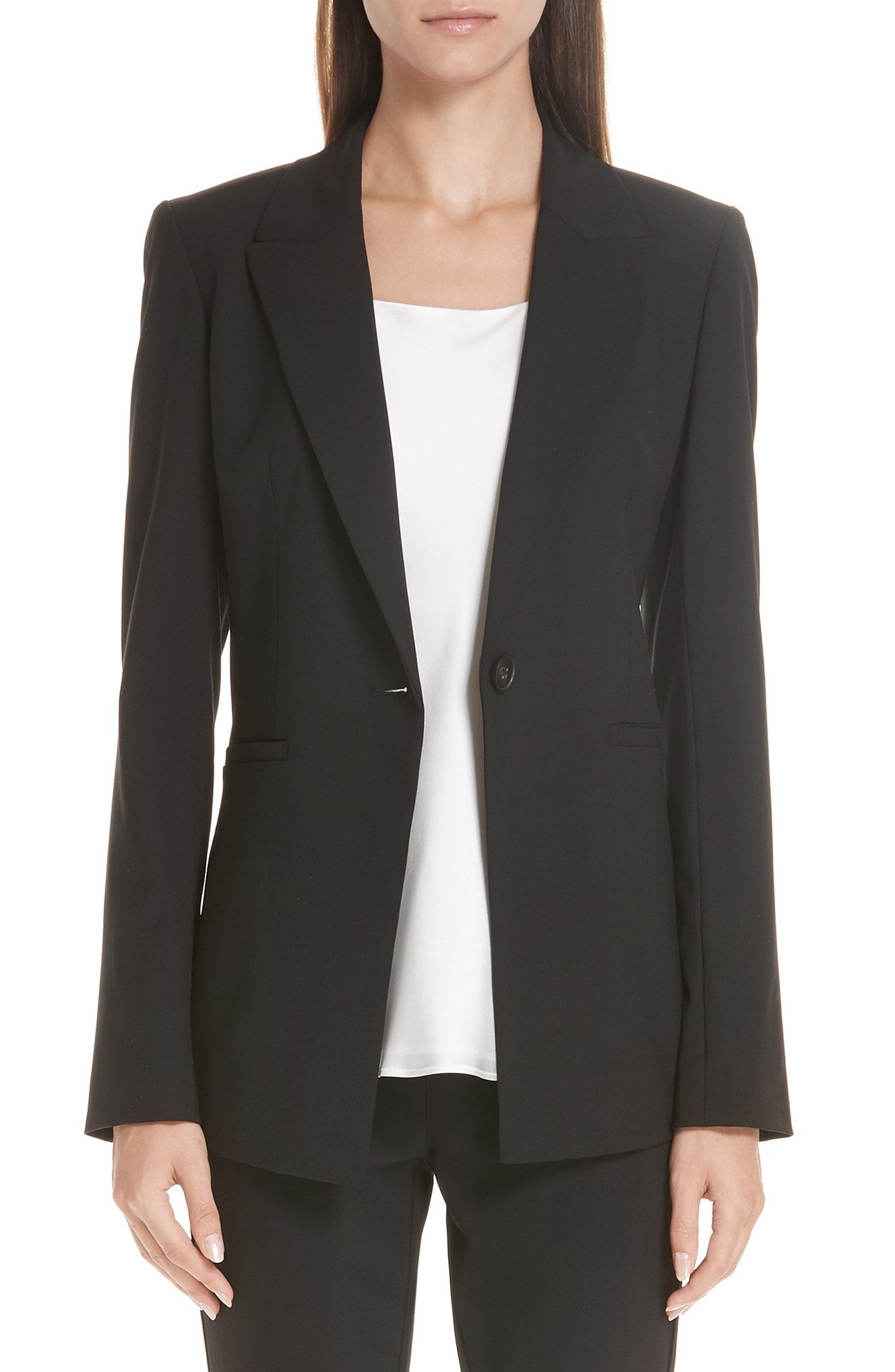 0f9a1c30d16b Lafayette 148 New York Charice Stretch Wool Jacket available at #Nordstrom