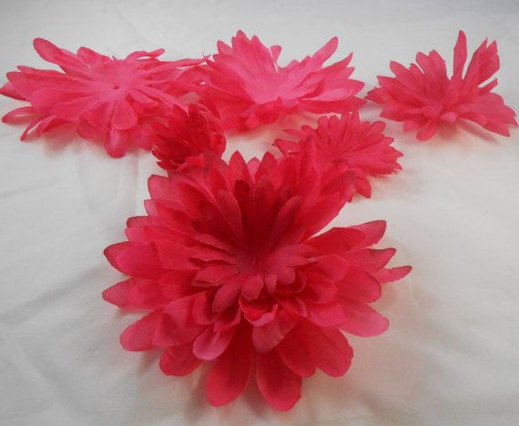 Pink silk flower petals crafting by layoutsfromtheheart on etsy pink silk flower petals crafting scrapbooking home decor crafts mightylinksfo Image collections