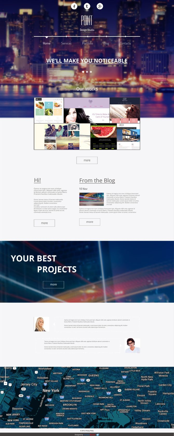 Hochmodernes Kostenloses Responsives Design Agentur Theme With Images Free Website Templates Free Web Template Design Agency