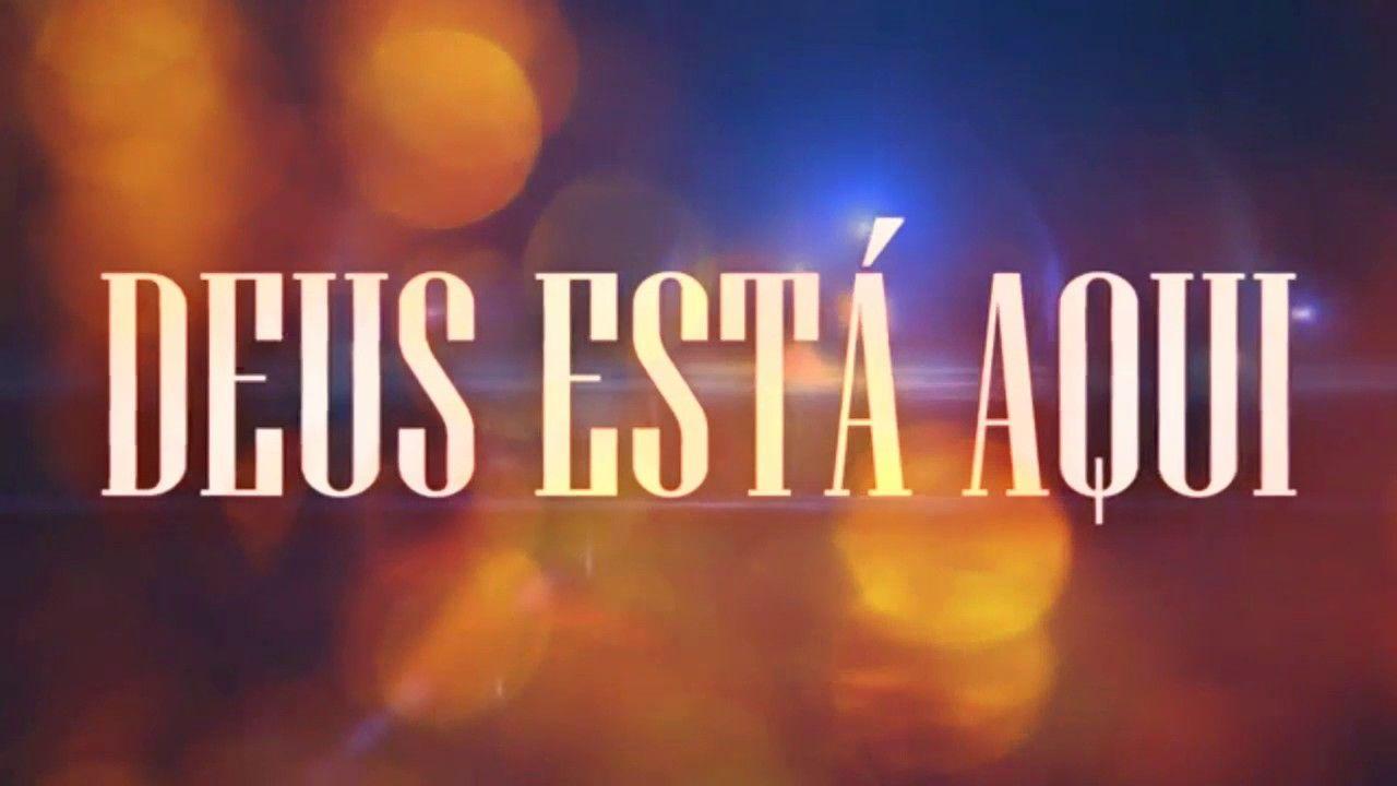 Deus Esta Aqui Ana Clara Letra Legendado With Images Neon