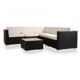 Modern Contemporary Outdoor Furniture Black Sofa Set Outdoor Sofa Sets Contemporary Outdoor Furniture Outdoor Sectional Seating