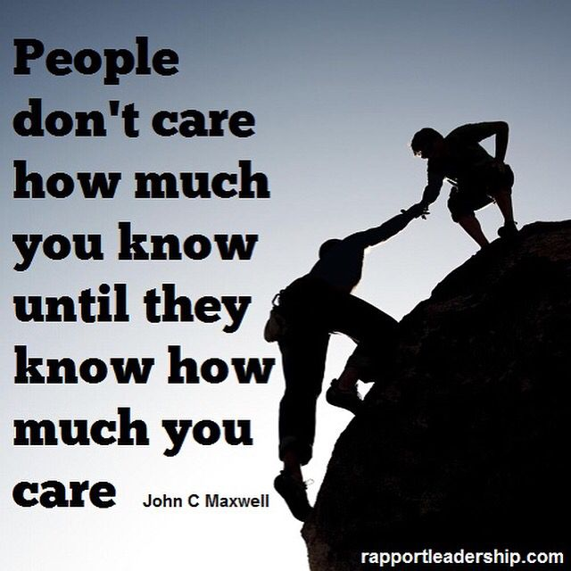 """""""People don't care how much you know until they know how much you care."""" ------- John Maxwell  #johnmaxwell #john #maxwell #care #caring #people #addvalue #think #positive #believe #believing #inspiration #inspirational #motivation #motivational #quotes #teamwork #cashflowmastermind90s #cashflow #mastermind #entrepreneurship #entrepreneurs #success #business #businesses #businessowner #leader #leadership #freedom #dailypin #shyle16   Follow FB: www.facebook.com/cashflowmastermind90s"""