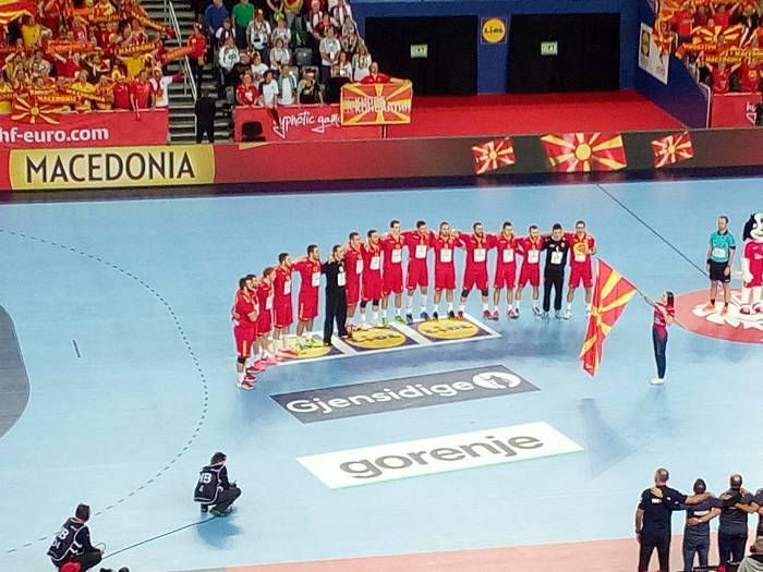 Handball EM 2018 Spanien vs. Mazedonien mit Kantersieg