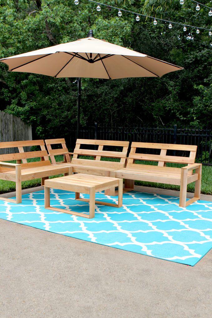 How To Make An Outdoor Sectional Diy Patio Diy Outdoor 400 x 300