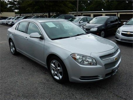 2010 Chevrolet Malibu 1lt 67981 Miles Silver Exterior Color With
