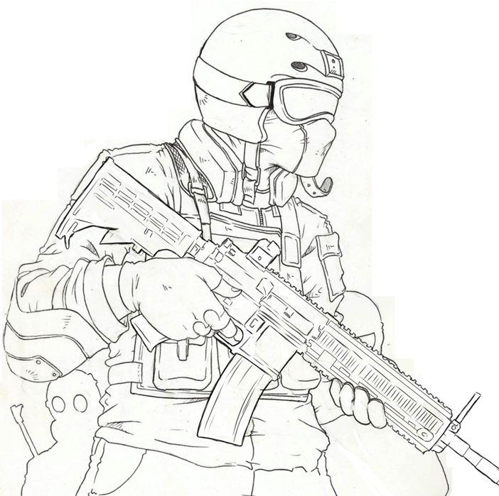 Soldado Guerrilheiro Arts