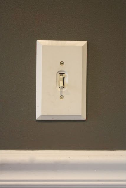Its In The Small Details! Like Painting Wooden Light Switch Covers So They  Donu0027