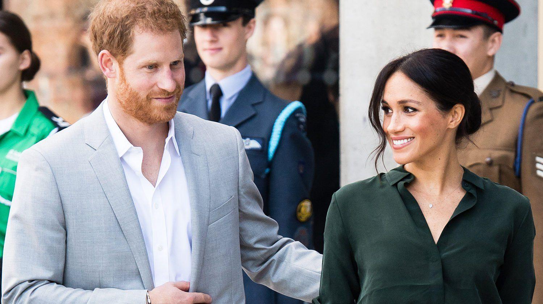 Meghan Markle Son Geste Envers Son Epoux Qui A Fait Chavirer L Angleterre Prince Harry Et Meghan Meghan Markle Epouse