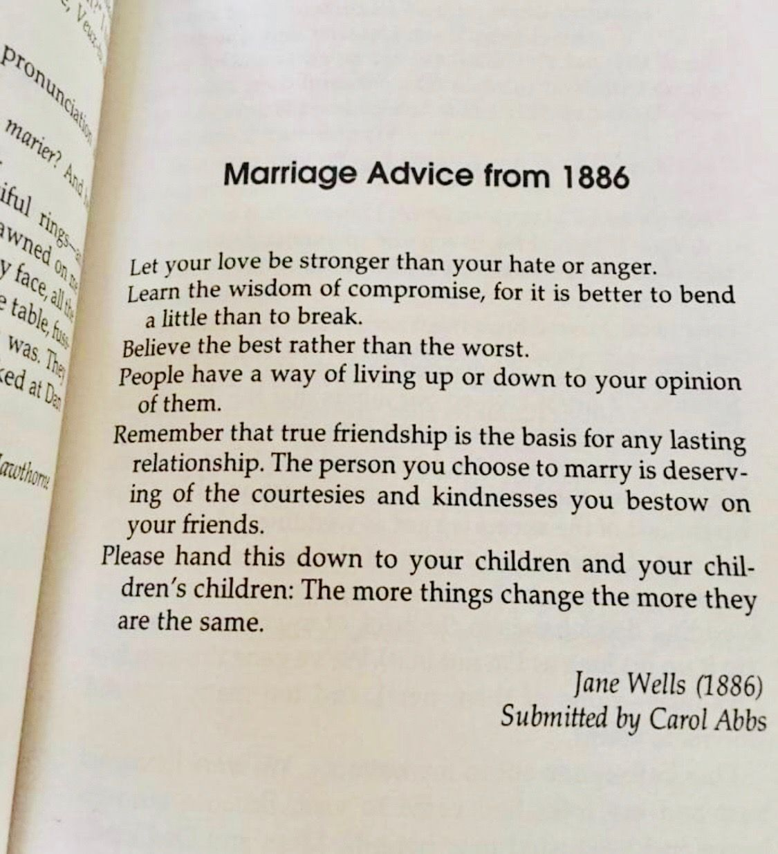 Marriage Advice 1886 Marriage advice, Encouraging words