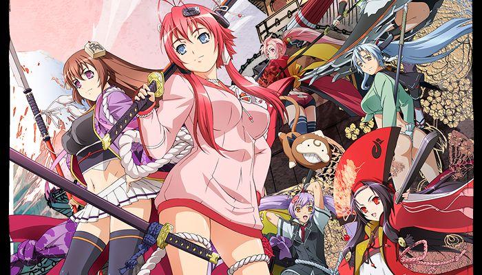 Hyakka Ryouran Sumurai Bride S2 12 Ep Action Comedy Historical Romance Harem Science Fantasy