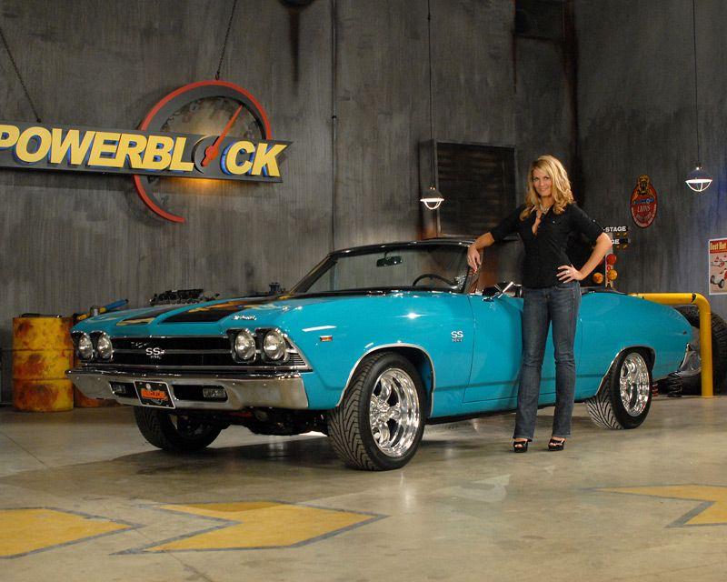 1969 Chevelle convertible Powerblock TV 69 chevelle