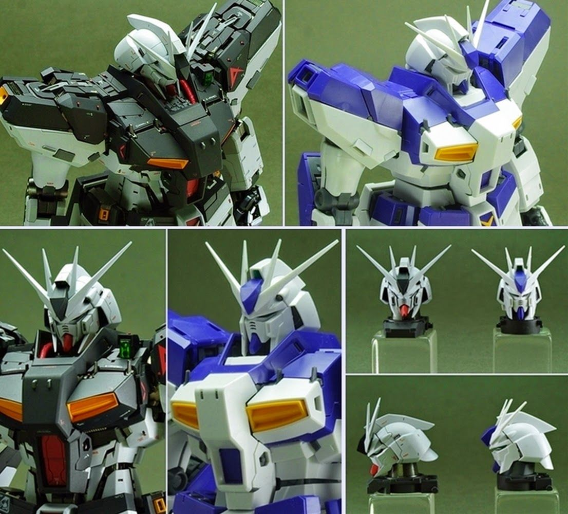"Custom Build MG 1/100 RX93v2 hiv Gundam Ver. Ka ""Amuro"