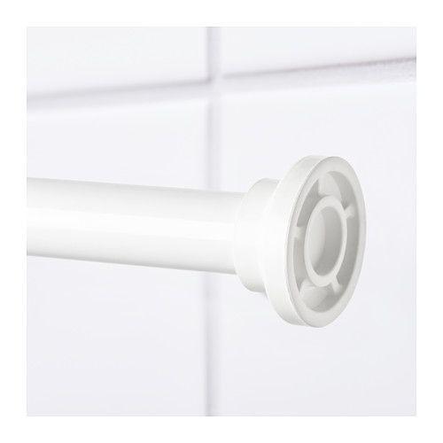 Botaren Shower Curtain Tension Rod White 47 79 Shower