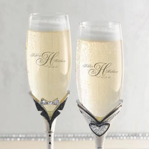Cute flutes from Things Remembered.