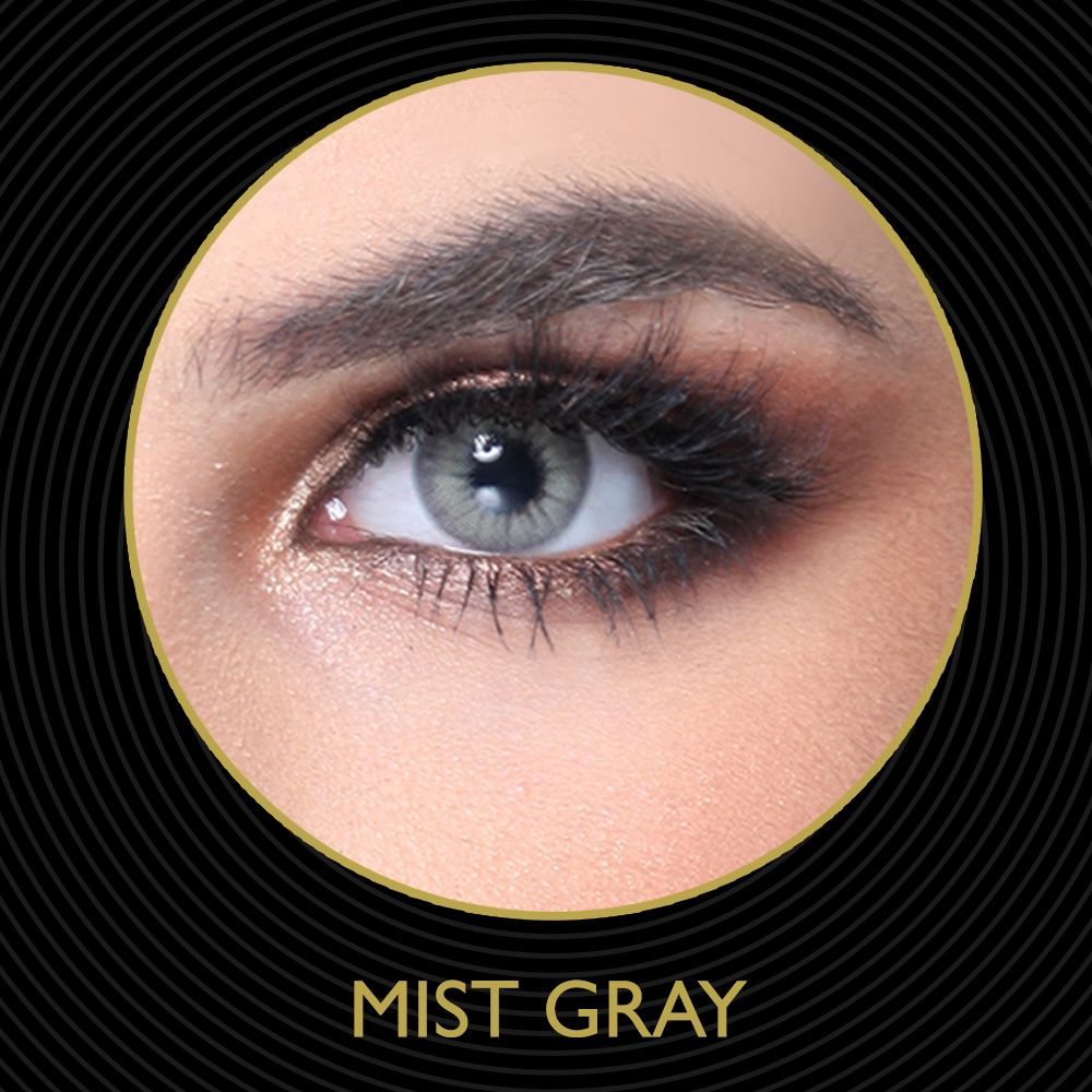 Mist Gray Contact Lense Cosmetic Contact Lenses Contact Lenses Colored Grey Contacts
