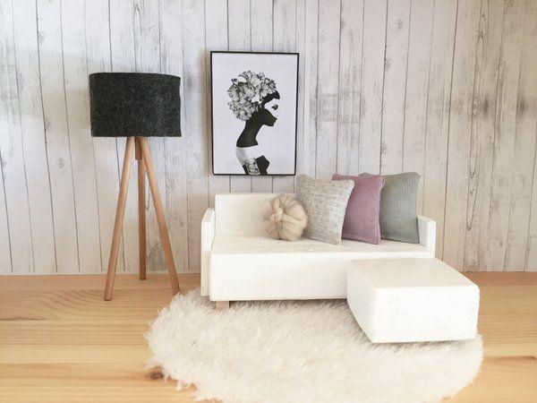 Sensational Image Of Mini Wooden Sofa Set Barbie House Furniture Dailytribune Chair Design For Home Dailytribuneorg
