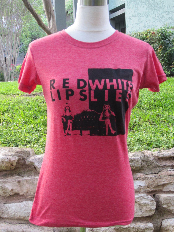 91a6dc9ff Red Lips White Lies Nashville Screenprinted Shirt. $20.00, via Etsy. Screen  Printing Shirts