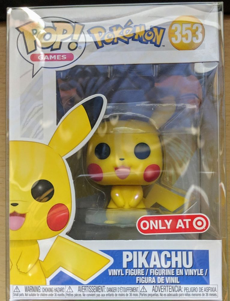 Funko Pop Pikachu Target Exclusive Super Hard To Find Ships In Protector