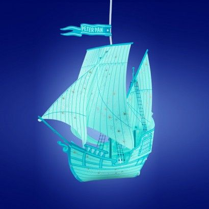 Peter Pan Blue Ship Lampshade Pendant Lamp Shade Lamp Shade Pendant Lamp