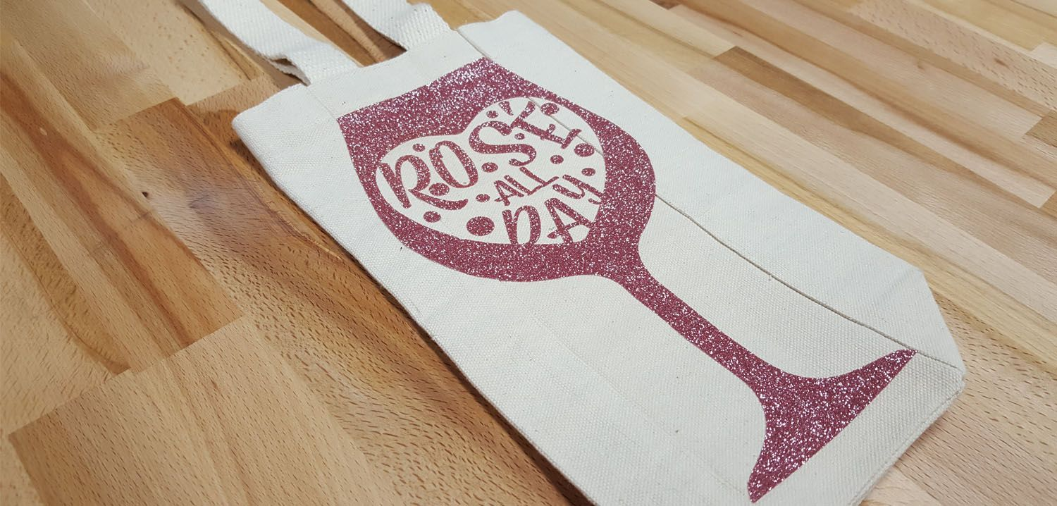 How to Iron On Rose Gold Glitter Heat Transfer Vinyl  You