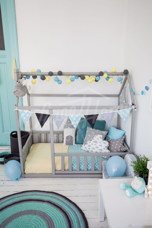 Toddler Bed Children Bed Montessori House Bed Montessori Bed