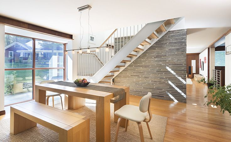 Flavin Architects\' designed a second floor to this classic single ...