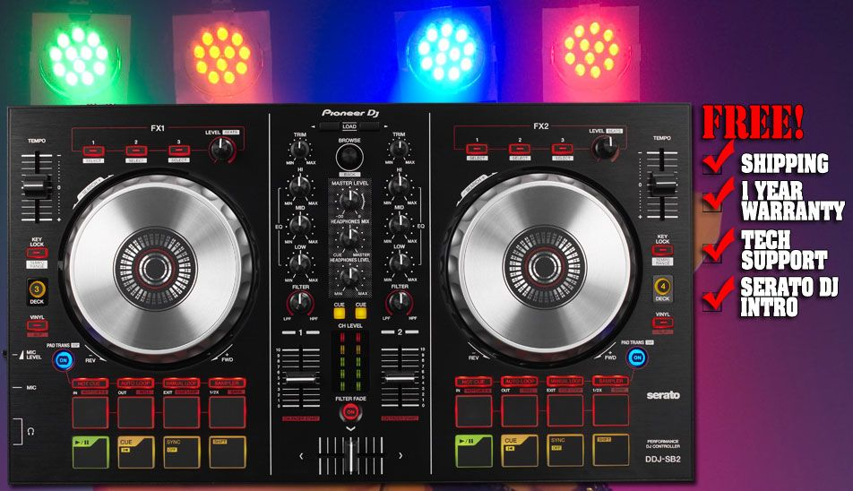 DJ Tools and DJ Controller From Chicago DJ Equipment  | Chicago DJ