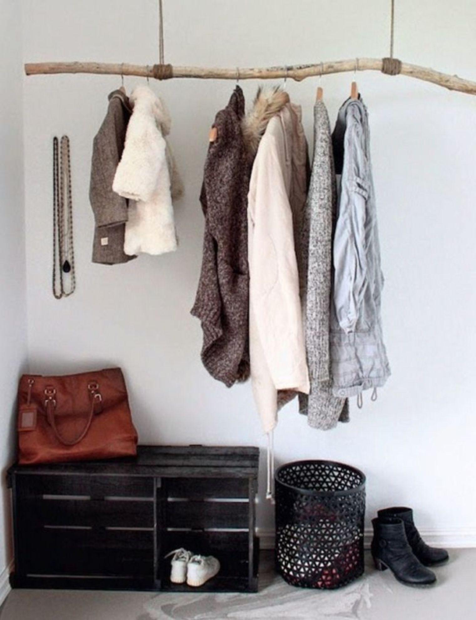 Pour Accrocher Les Vetements diy porte-manteaux et patères | porte manteau diy, porte