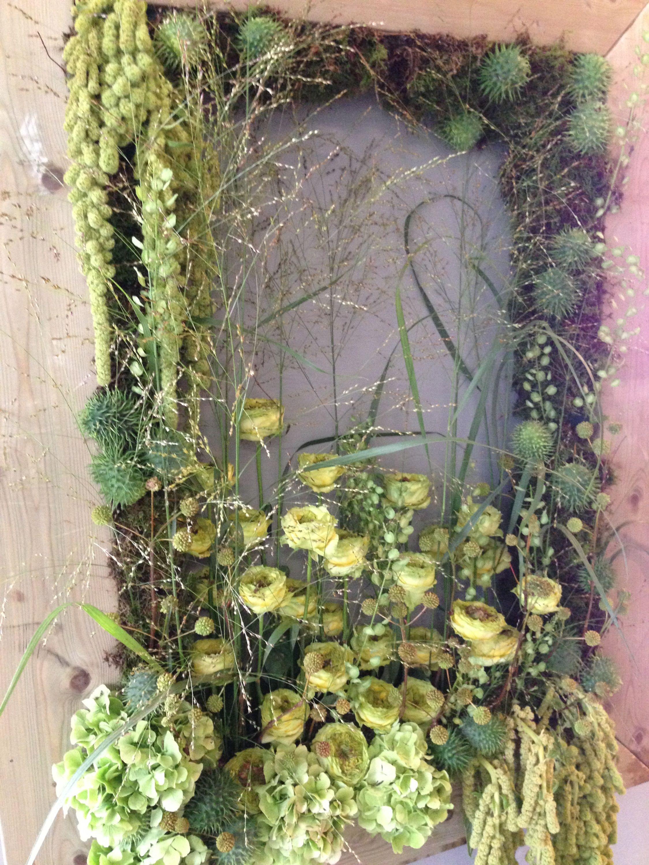 Green Room, Fleuramour 2014 • Floral designers: Peter Boeijkens, Unusual projects - Jan Aartsen, Freelance - Frank Timmerman, Flowers gallery