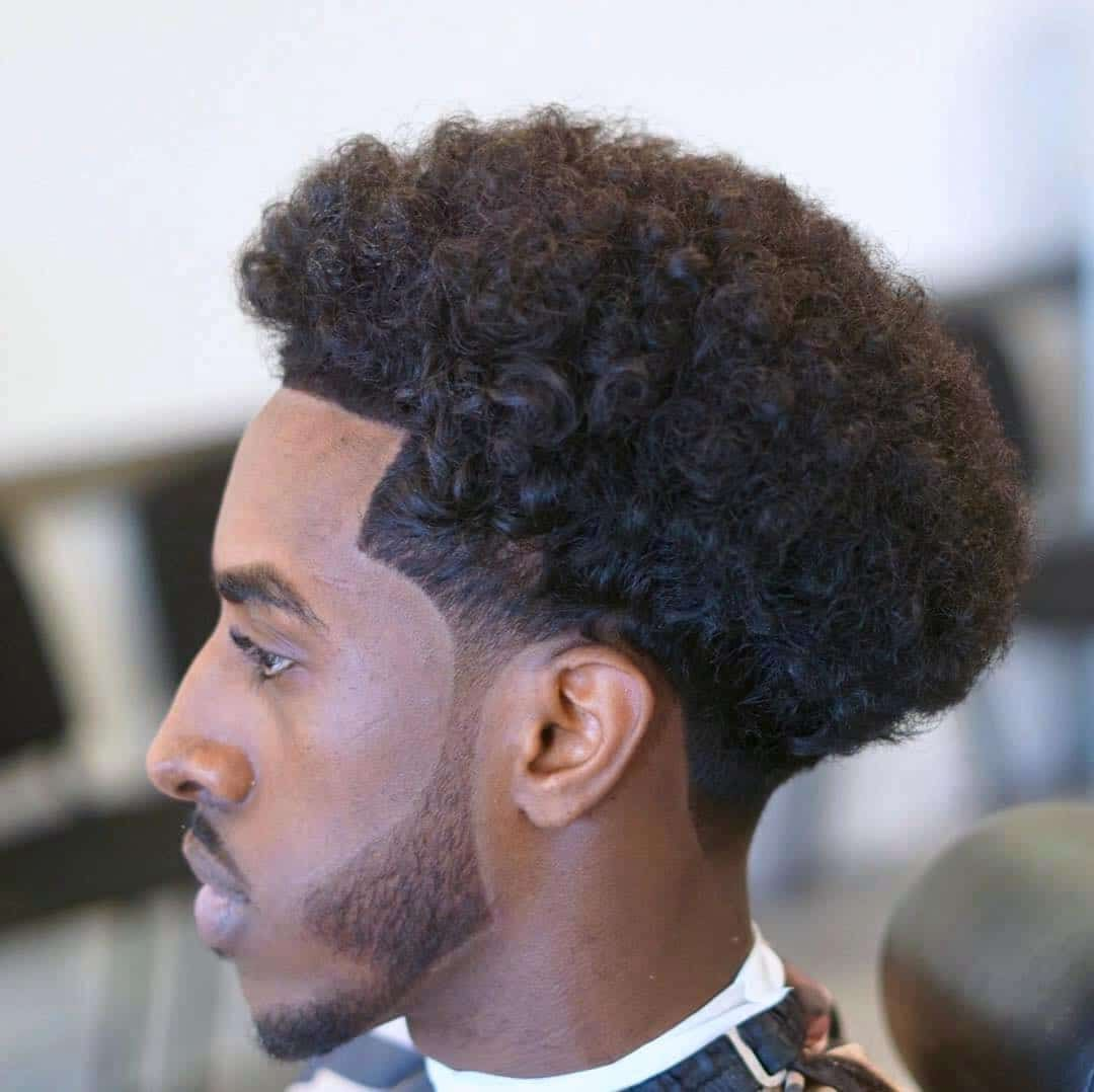 27 Stylish Taper Haircuts That Will Keep You Looking Sharp 2020 Update In 2020 Tapered Haircut Afro Hairstyles Men Black Hair Afro