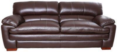 La Z Boy Dexter 100 Leather Chocolate Brown Sofa Leather Sofa