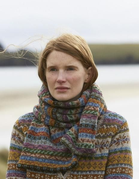 SHETLAND is a collection of 12 Fair Isle handknit designs for ...