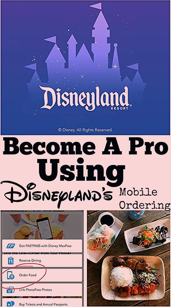 Become A Pro Using Disneyland Mobile Ordering