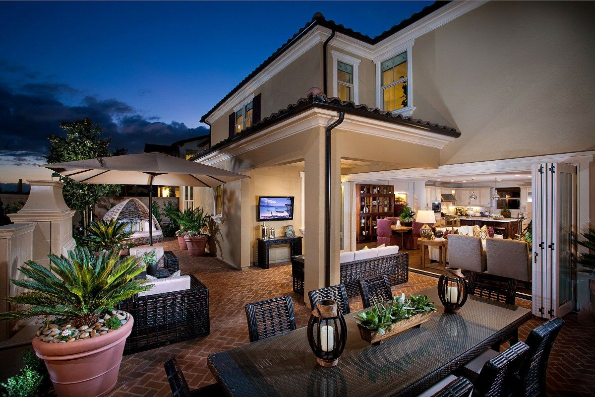 Garden Hill at Portola Springs, Residence 2 Patio w/ Open Wall, a KB ...