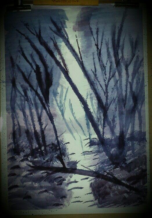 2nd watercolour