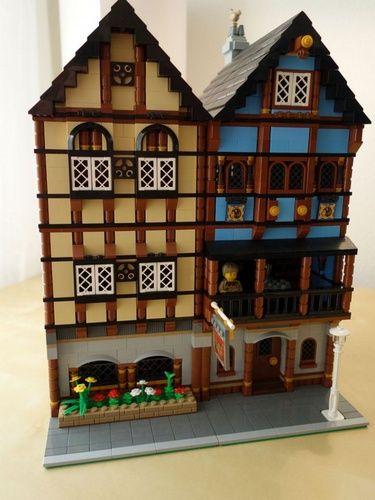 Medieval Market Village Modular Conversion: A LEGO® creation by Cho ...