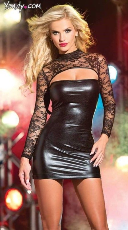 Latex Dress Slut