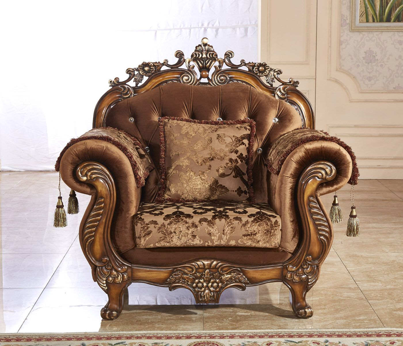 Meridian Napoli Chair in Cherry 692C Meridian furniture