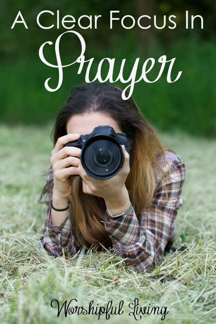 How is your focus? Are you looking at all thing things around you - and have lost your focus on the war? Lost your focus on prayer? Come get refocused!