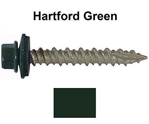 "Best Metal Roofing Screws 250 10 X 1Ͼ"" Hartford Green Hex 400 x 300"