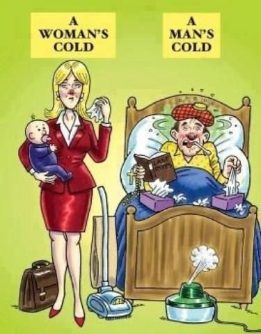 Man Cold Meme : Things, Shouldn't, Laugh, Can't