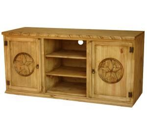 Beautiful Rustic Pine Tv Cabinet