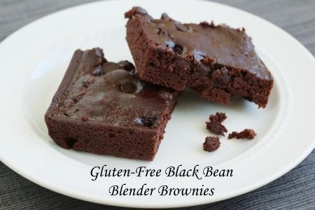 Brownies Made in A Blender With Beans (Really!) - 3 PP
