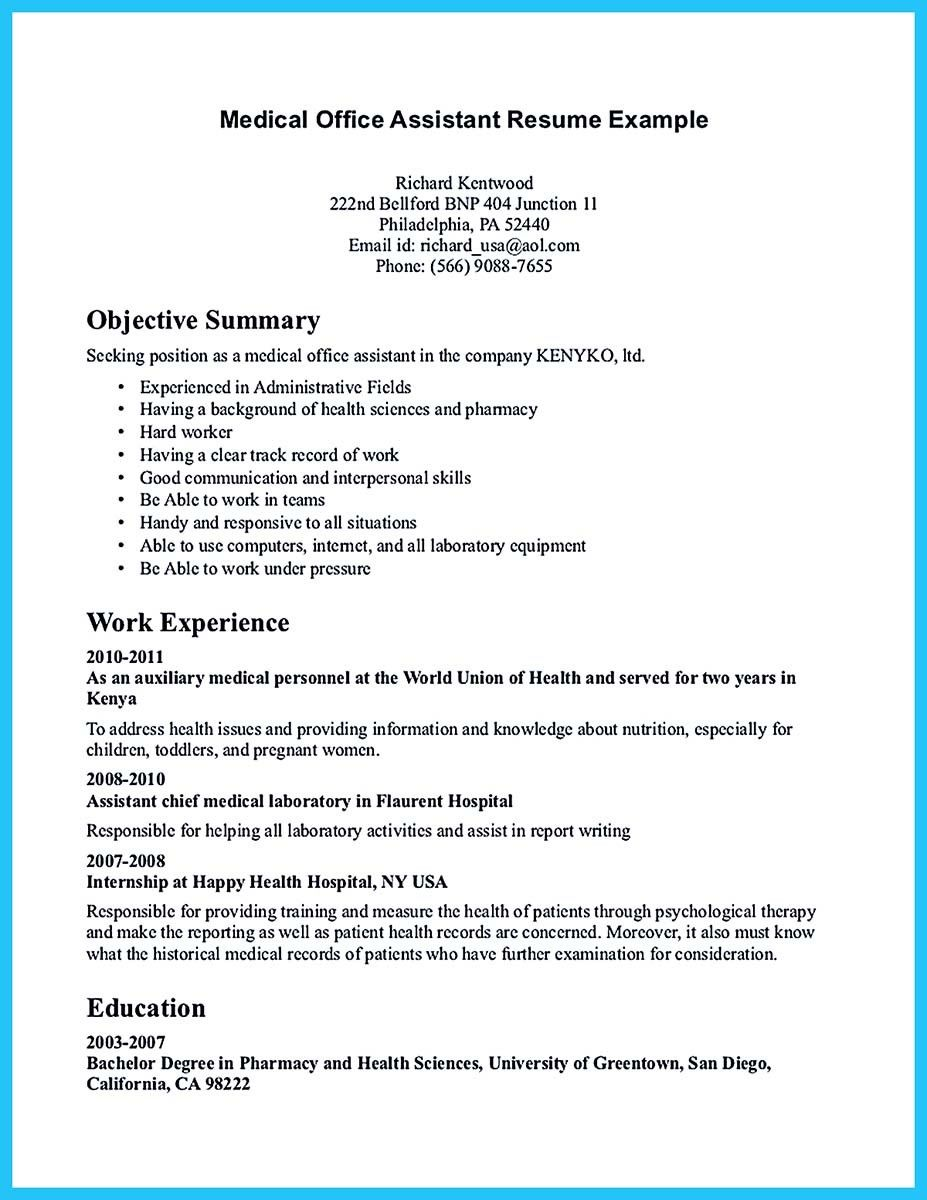 Awesome Writing Your Assistant Resume Carefully  Resume Template