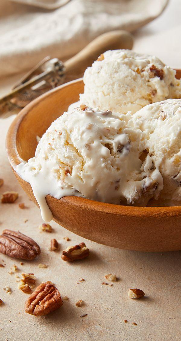Butter Pecan Ice Cream Recipe Butter Pecan Ice Cream Homemade Ice Cream Recipes Ice Cream Recipes